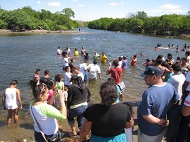 A Baptism in Nicaragua