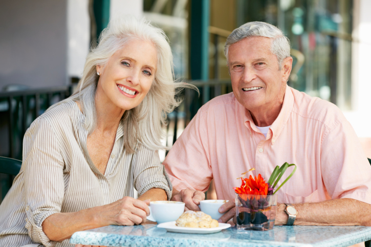 Retired Couple Outdoors