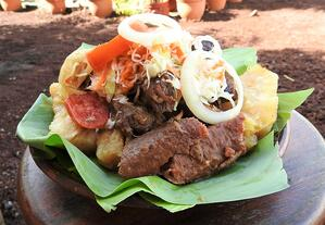 Baho (Steamed Meat) - Courtesy of Recetas Nicaragüenses