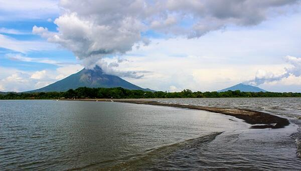 Ometepe Island in the Middle of Lake Nicaragua - Mike Polischuk
