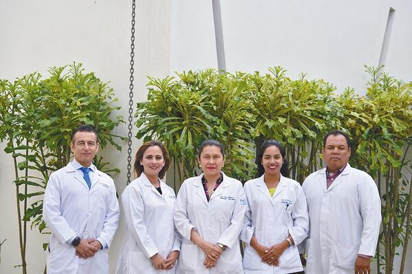 Part of the Outstanding Medical Team at Hospital Vivian Pellas