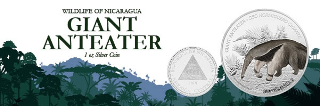 Wildlife of Nicaragua Photo Courtesy of Exclusive Coins