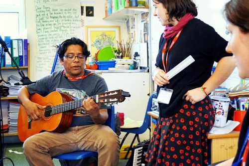 Nicaraguan Musician Spreads Music to Oxford, UK